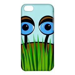 Snail Apple Iphone 5c Hardshell Case by Valentinaart