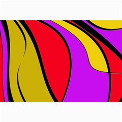 Colorful Lines Collage Prints by Valentinaart