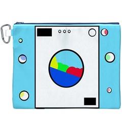 Washing Machine  Canvas Cosmetic Bag (xxxl) by Valentinaart
