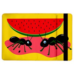 Ants And Watermelon  Ipad Air 2 Flip by Valentinaart