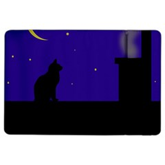 Cat on the roof  iPad Air 2 Flip by Valentinaart