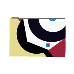 Digital abstraction Cosmetic Bag (Large)  by Valentinaart