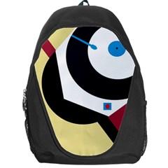 Digital abstraction Backpack Bag by Valentinaart