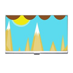 Abstract Landscape  Business Card Holders by Valentinaart