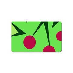 Cherries  Magnet (name Card) by Valentinaart