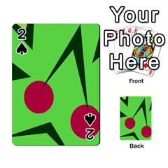 Cherries  Playing Cards 54 Designs  by Valentinaart