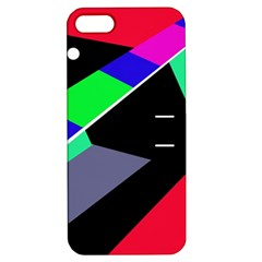 Abstract Fish Apple Iphone 5 Hardshell Case With Stand by Valentinaart