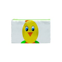 Cute Chicken  Cosmetic Bag (xs) by Valentinaart
