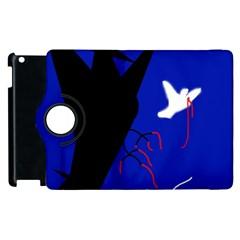 Night Birds  Apple Ipad 2 Flip 360 Case by Valentinaart