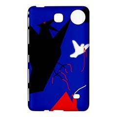 Night Birds  Samsung Galaxy Tab 4 (7 ) Hardshell Case  by Valentinaart