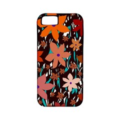 Orange Flowers  Apple Iphone 5 Classic Hardshell Case (pc+silicone) by Valentinaart