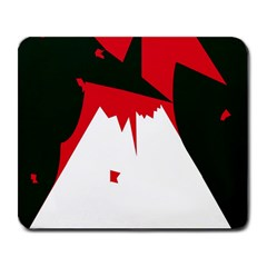 Volcano  Large Mousepads by Valentinaart