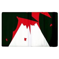 Volcano  Apple Ipad 3/4 Flip Case by Valentinaart