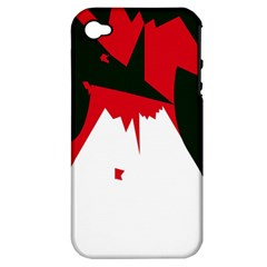 Volcano  Apple Iphone 4/4s Hardshell Case (pc+silicone) by Valentinaart