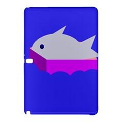 Big fish Samsung Galaxy Tab Pro 12.2 Hardshell Case by Valentinaart