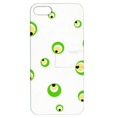 Green eyes Apple iPhone 5 Hardshell Case with Stand