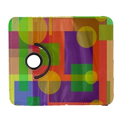Colorful geometrical design Samsung Galaxy S  III Flip 360 Case