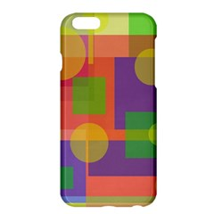 Colorful Geometrical Design Apple Iphone 6 Plus/6s Plus Hardshell Case by Valentinaart