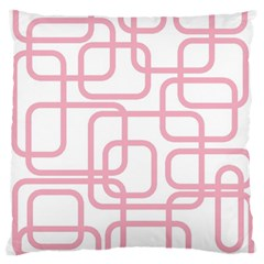 Pink Elegant Design Large Flano Cushion Case (one Side) by Valentinaart