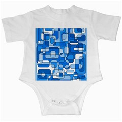 Blue Decorative Abstraction Infant Creepers by Valentinaart