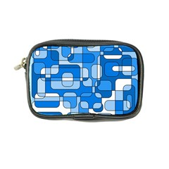 Blue Decorative Abstraction Coin Purse by Valentinaart