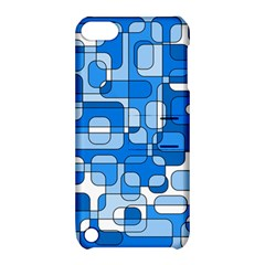 Blue Decorative Abstraction Apple Ipod Touch 5 Hardshell Case With Stand by Valentinaart