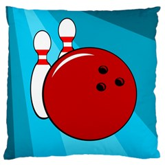 Bowling  Standard Flano Cushion Case (one Side) by Valentinaart