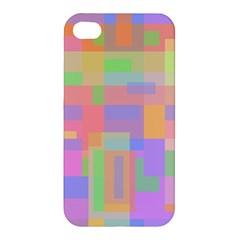 Pastel Decorative Design Apple Iphone 4/4s Hardshell Case by Valentinaart