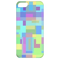 Pastel Geometrical Desing Apple Iphone 5 Classic Hardshell Case by Valentinaart