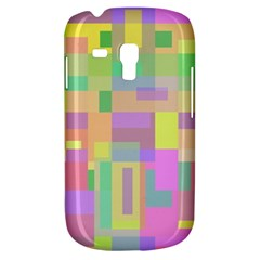 Pastel Colorful Design Samsung Galaxy S3 Mini I8190 Hardshell Case by Valentinaart