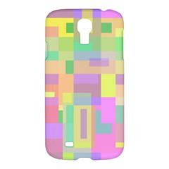 Pastel Colorful Design Samsung Galaxy S4 I9500/i9505 Hardshell Case by Valentinaart