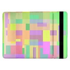 Pastel Colorful Design Samsung Galaxy Tab Pro 12 2  Flip Case by Valentinaart