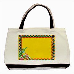 color027a Twin-sided Black Tote Bag by jpcool1979