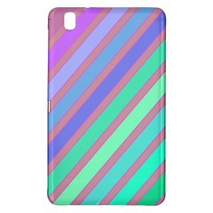 Pastel colorful lines Samsung Galaxy Tab Pro 8.4 Hardshell Case