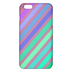 Pastel Colorful Lines Iphone 6 Plus/6s Plus Tpu Case by Valentinaart