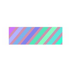 Pastel Colorful Lines Satin Scarf (oblong) by Valentinaart