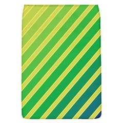 Green and yellow lines Flap Covers (L)  by Valentinaart