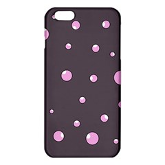 Pink bubbles iPhone 6 Plus/6S Plus TPU Case by Valentinaart
