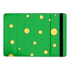 Yellow Bubbles Samsung Galaxy Tab Pro 10 1  Flip Case by Valentinaart