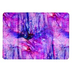 Purple Alcohol Ink Abstract Samsung Galaxy Tab 10 1  P7500 Flip Case by KirstenStar