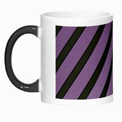 Purple Elegant Lines Morph Mugs by Valentinaart