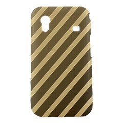 Golden elegant lines Samsung Galaxy Ace S5830 Hardshell Case