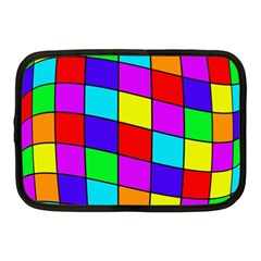 Colorful Cubes Netbook Case (medium)  by Valentinaart
