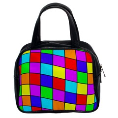 Colorful Cubes Classic Handbags (2 Sides) by Valentinaart
