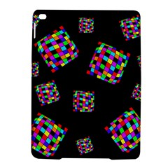 Flying  colorful cubes iPad Air 2 Hardshell Cases