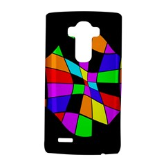 Abstract colorful flower LG G4 Hardshell Case by Valentinaart