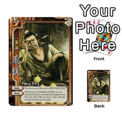 Sanguosha 2 By Jason Han   Multi Purpose Cards (rectangle)   H1476v8q7zis   Www Artscow Com Front 11