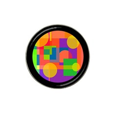Colorful circle  Hat Clip Ball Marker (10 pack) by Valentinaart