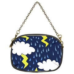 Thunderstorms Chain Purses (two Sides)  by BubbSnugg
