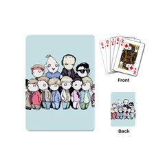 Goonies Vs Monster Squad Playing Cards (mini)  by lvbart